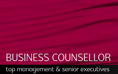 BUSINESS COUNSELLOR - top management & senior executives